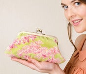 Image of Apple and rose Fifi clutch