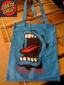 Image of Santa Cruz Screaming Hand Tote Shopper Blue