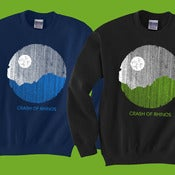 Image of Crash of Rhinos sweatshirt