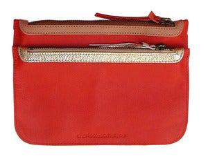 Image of Pochette en cuir RIVERSIDE - dernires pices