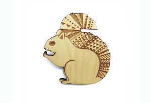 Image of Woodland Squirrel Brooch