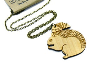 Image of Woodland Squirrel Necklace
