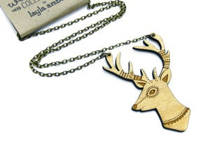 Image of Woodland Deer Necklace