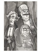 Image of The Young Frankenstein Gang Print