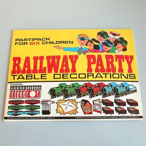 Image of Amazing Vintage Paper Party Pack - Railway