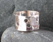 Image of Matt's Sterling Polka Dot Ring