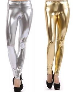 Image of METALLIC LEGGINGS