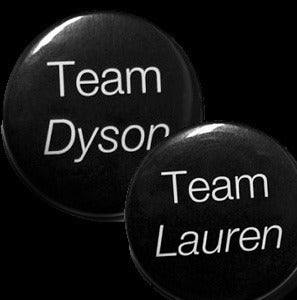 "Image of Doccubus Team Dyson -Lost Girl Inspired- 1.5"" Pinback Button"