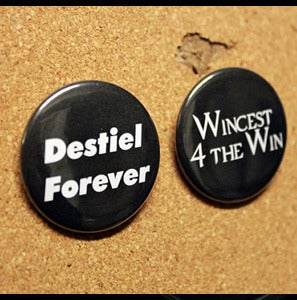 Image of Supernatural Inspired Buttons