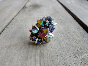 Image of ELECTRA'S RAINBOW DREAM - ring 