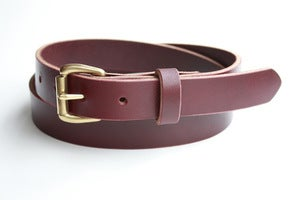 Image of The Slim Belt - Oxblood