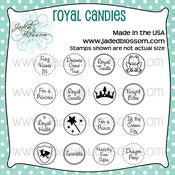 Image of Royal Candies (4x4) ~ Peachy