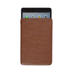 Image of iPad Mini Leather Sleeve