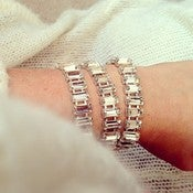 Image of Triple Wrap Crystal Bracelet