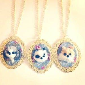 Image of Animal Tapestry Necklace