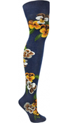 Image of Pansies Over-The-Knee Navy