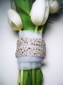 Image of Lizzy Crystal Bouquet Wrap