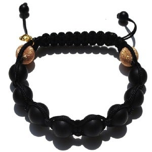 Image of Black Silk w/ 2 Rose Gold Ends