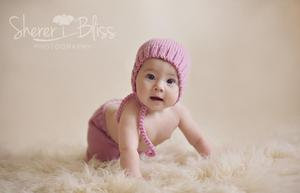 Image of 6-12 Months Baby Pants & Hat Set - 7 colors