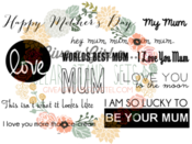 Image of NEW FOR APRIL - Mother's Day Stamp Set