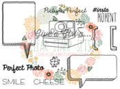 Image of NEW FOR MAY - Picture Perfect Stamp Set