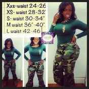 Image of Camo Life Pants-Women