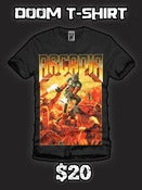 Image of 'Doom' T-shirt