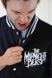 Image of TMB BLACK COLLEGE JACKET