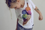 Image of T-shirt glace finger in the nose ♥