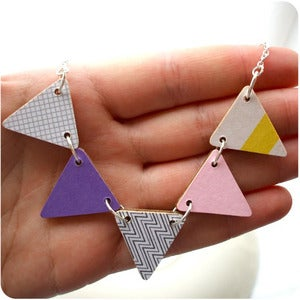 Image of • Fun Fair • Bunting Necklace