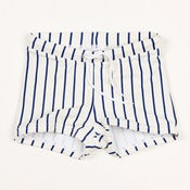 Image of MINI RODINI stripe swim pants, blue