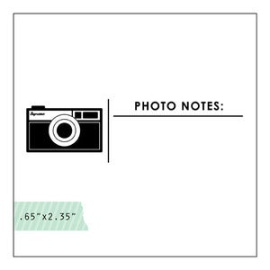 Image of photo notes