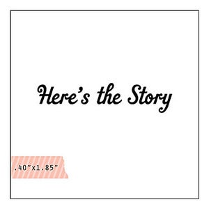 Image of here's the story