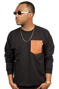 Image of Croc Pocket Crew Brown