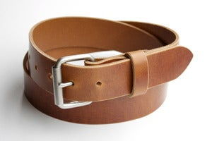 Image of The Roller Buckle Belt - Whiskey