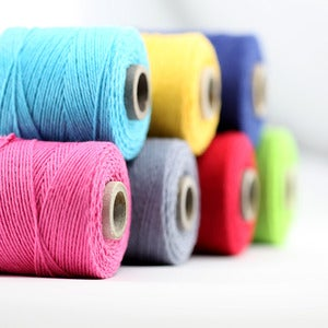 Image of Solid Color Baker's Twine Spools