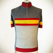 Image of Federico Cycling Jersey - European Merino Wool