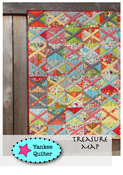 Image of Treasure Map Quilt Pattern