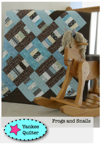 Image of Frogs and Snails Quilt Pattern
