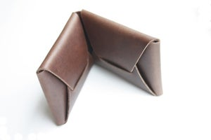 Image of The Folded Card Carry No. 2 - Medium Brown