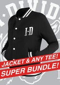 Image of Varsity College Jacket and any Tee Bundle