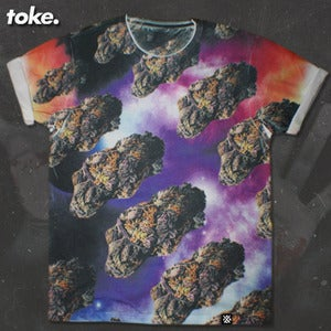 Image of Toke - Space NUGGS - Tee