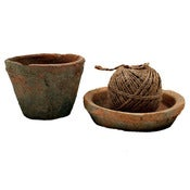 Image of Redstone Pot, Saucer and String