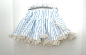Image of Vintage Can Can Pocket Skirt in Blue
