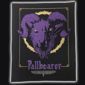 Image of PALLBEARER &quot;GOAT HEAD&quot; BACK PATCH