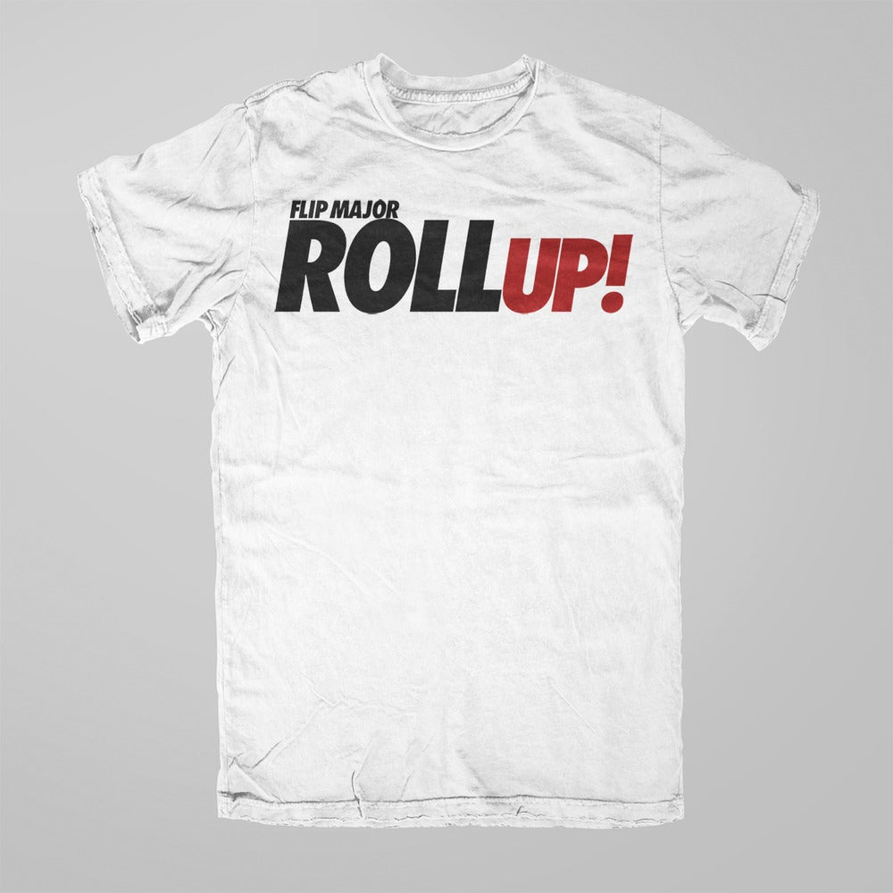 Image of Flip Major Roll Up Tee - White