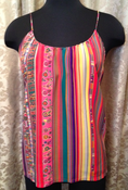 Image of Tucker Colourful Tank SZ M