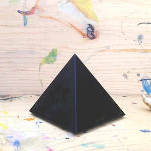 Image of Obsidian Pyramid Crystal