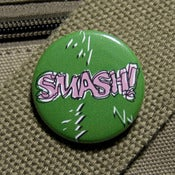 Image of Smash button mean and green