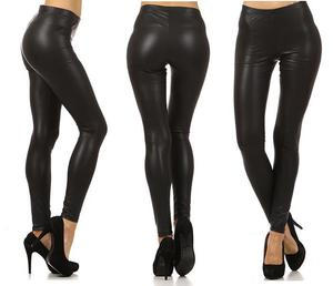 Image of LEATHER LEGGINGS